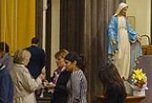 Eucharistic minister at Mass