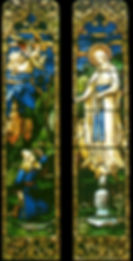 ICC stained glass - Lourdes
