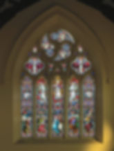 Stained glass windows at ICC