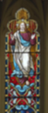 Ascension of Christ - ICC window