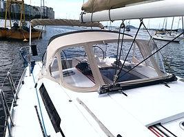 Capota para veleiro - sprayhood