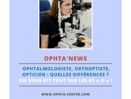 Ophtalmologiste, Orthoptiste, Opticien : quelles différences ? On vous dit TOUT sur les #3 « O » !