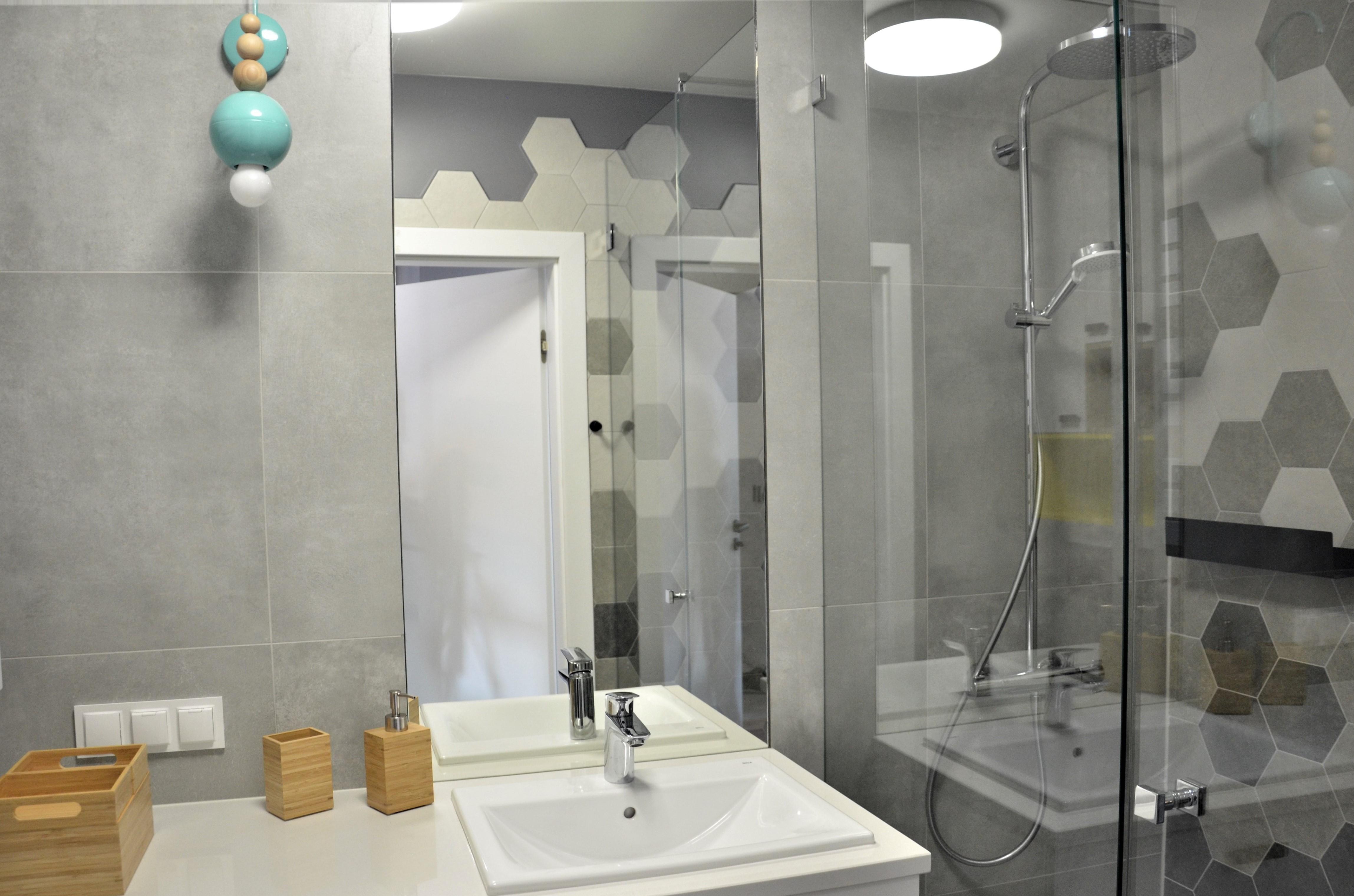 Zdjęcie projektowanej łazienki