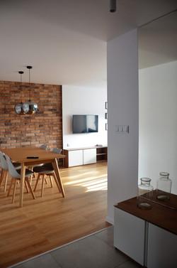 Projekt salonu w mieszkaniu