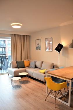 Salon 2 w mieszkaniu na wynajem