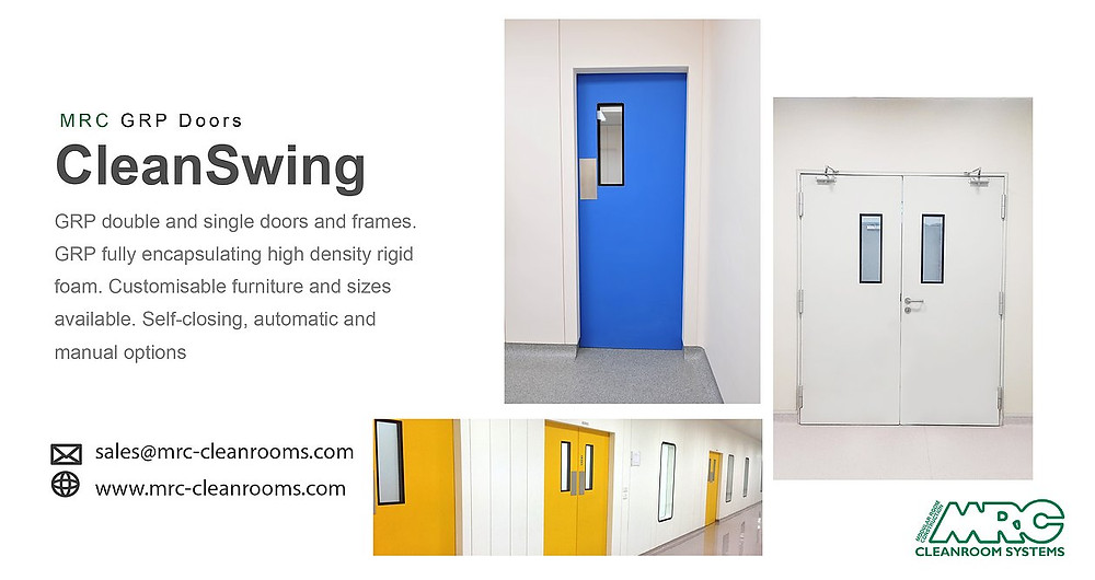 MRC Hygienic Swing Doors