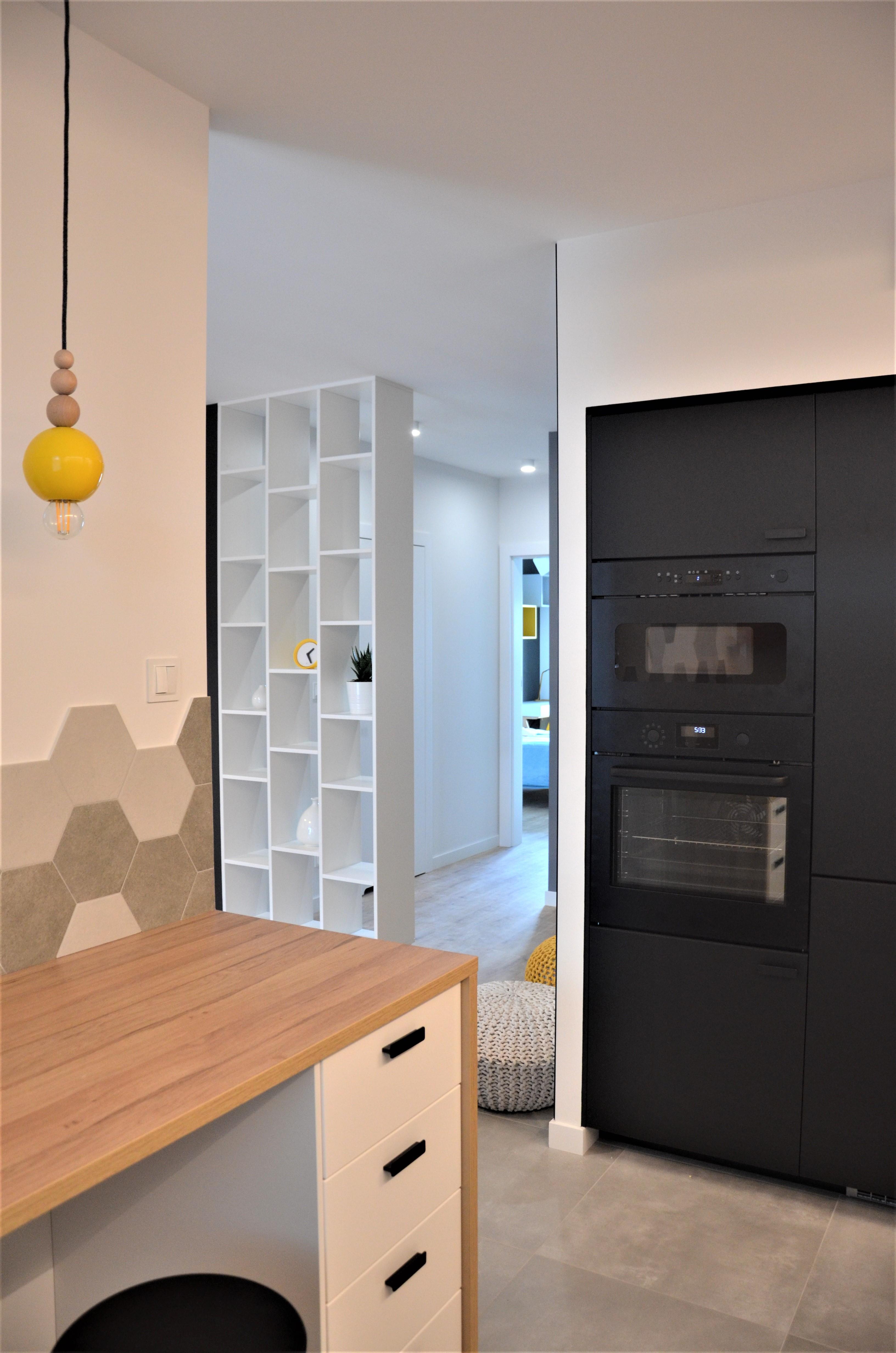 Projekt kuchni 2 w mieszkaniu