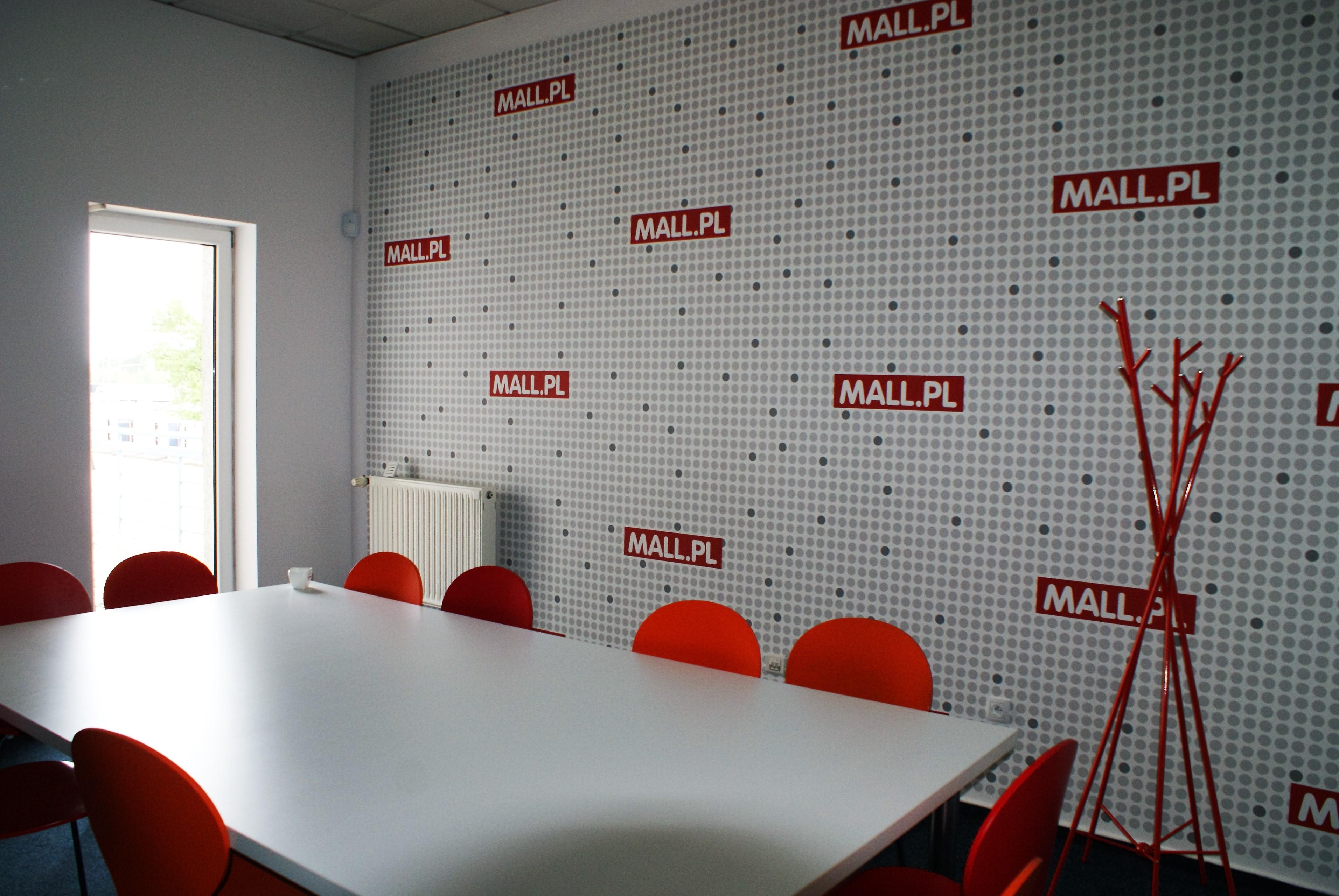 Projekt biura firmy internetowej