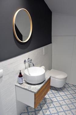 Projekt małej, pięknej łazienki