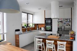 Otwarta kuchnia w domu Wrocław