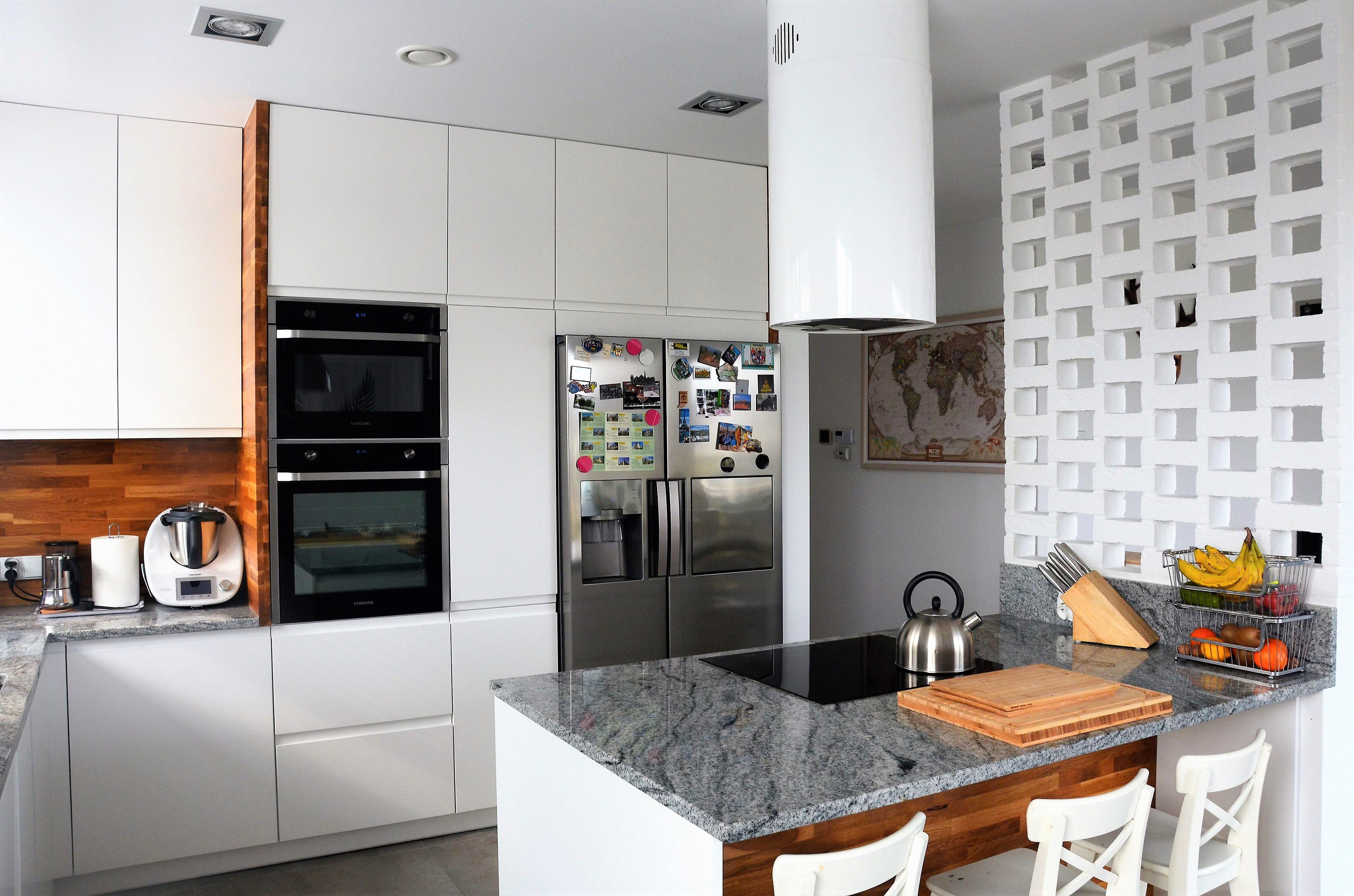 Otwarta kuchnia z wyspą