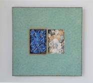 Blue Flowers/Shells