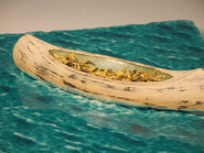 Canoe in Calm Water (Detail)