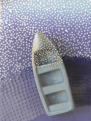 Blue Evening V (Detail)