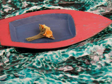 Rowboat with a Bouquet (Detail)
