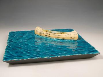 Canoe in Calm Water