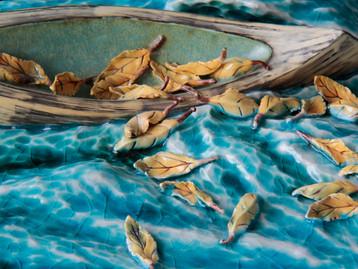 Floating Leaves III (Detail)