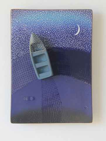 Blue Evening V
