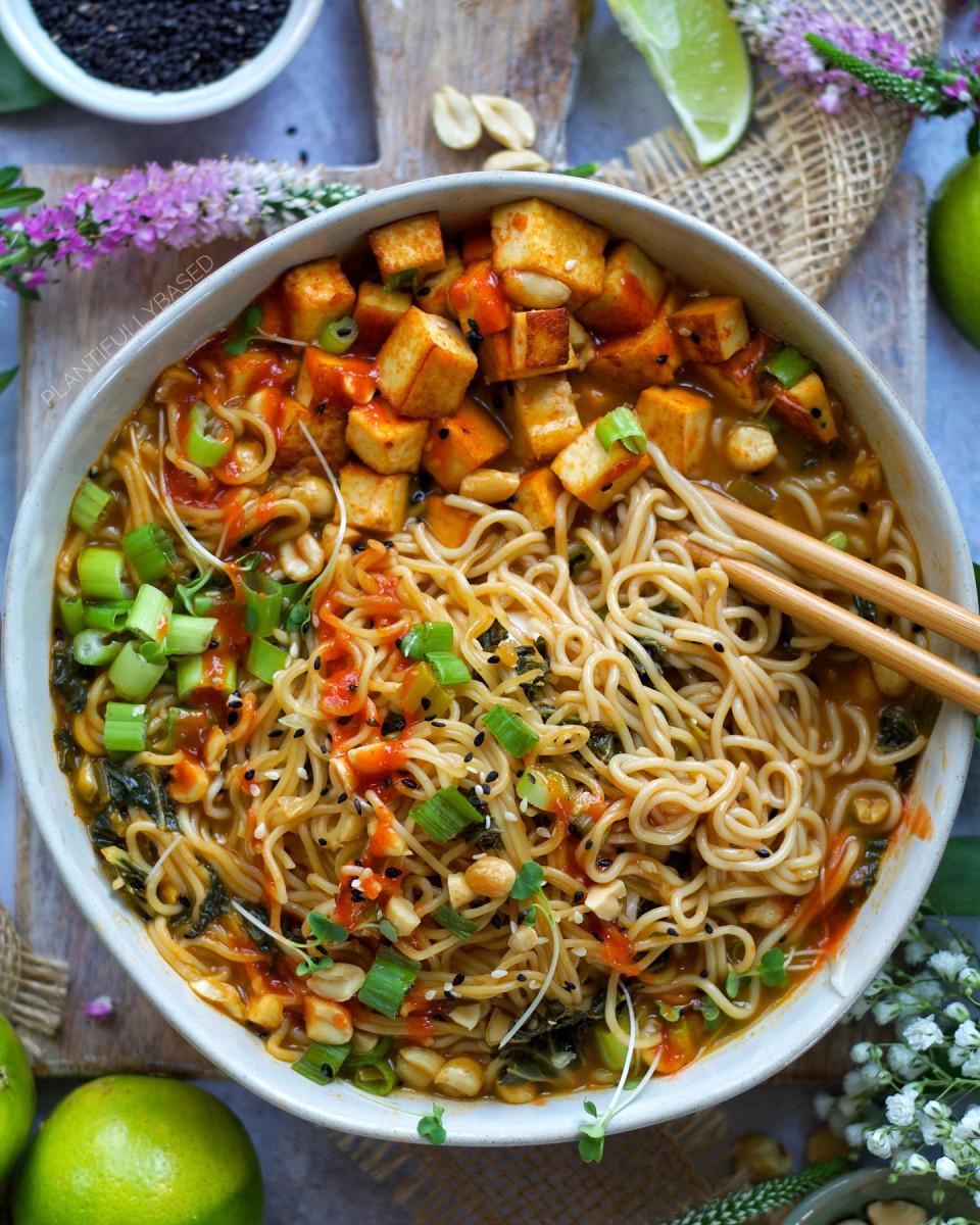 Ramen noodle pad thai