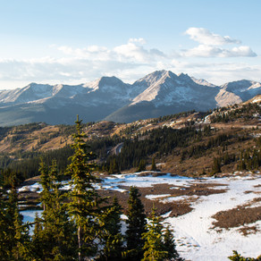 Exploring Cottonwood Pass in Colorado (in the Fall)