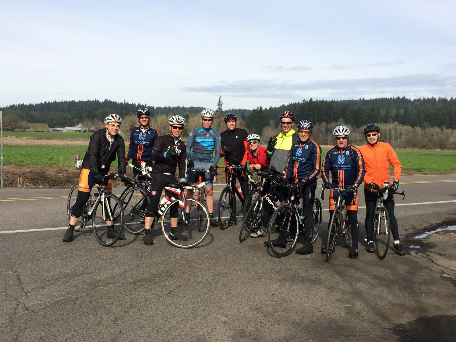 West side group ride