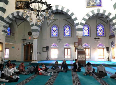 GrantEd Funds Field Trip to Diyanet Center Mosque