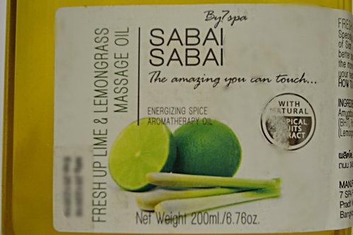 SABAI SABAI Освежающий Лайм и Лимонная Трава