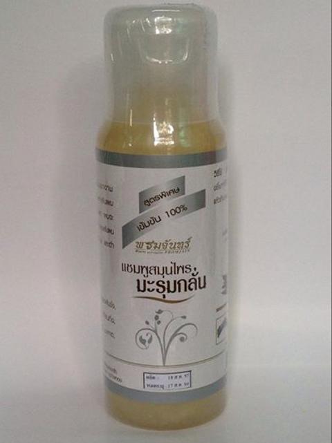 Травяной шампунь для волос с экстрактом моринги
