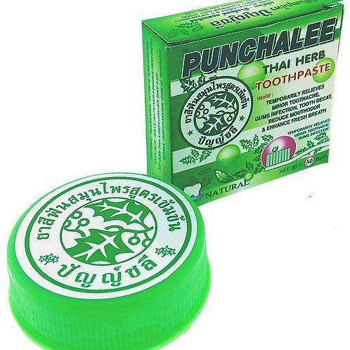 """Органическая зубная паста Панчале с тайскими травами """"Punchalee Herbal Toothpast"""