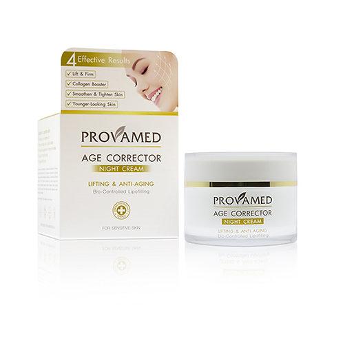 Ночной антивозрастной крем Prov. Age corrector Night Cream. Lifting & Anti Aging