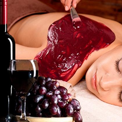 """Обёртывание для тела """"Красное вино"""""""
