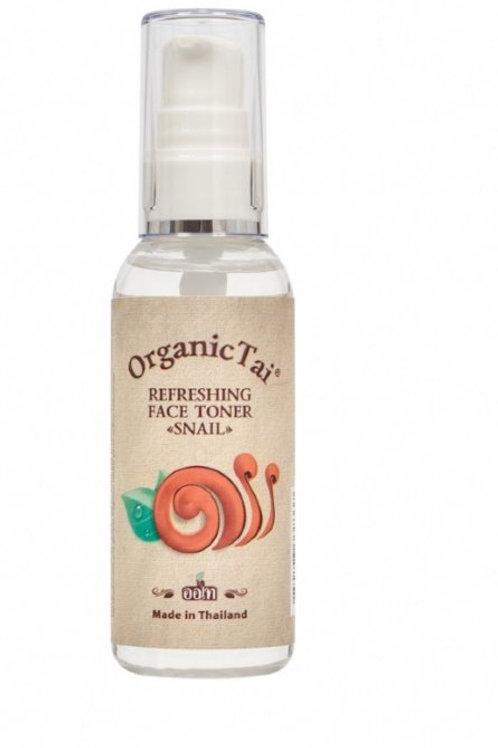 Освежающий тоник для лица с экстрактом улитки, 60 мл OrganicTai