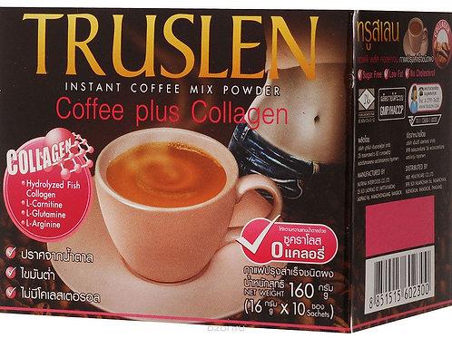 Тruslen Coffee Plus Collagen растворимый кофе с коллагеном в пакетиках 10 шт