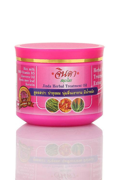 Jinda Herbal Treatment Rice and milk - Лечебная маска для волос с Кератином+рисо