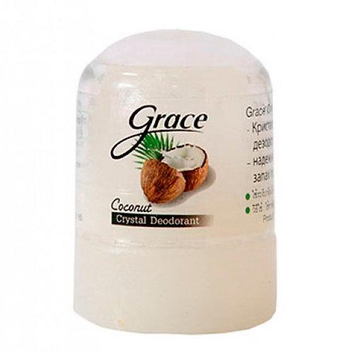 Дезодорант Grace кристаллический, кокос (Grece deodorant Coconut)