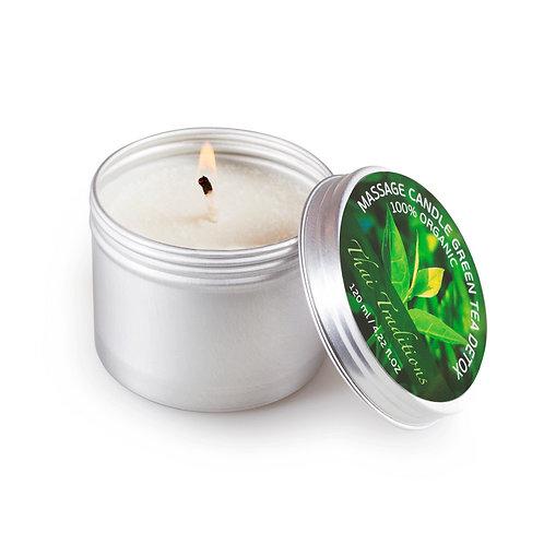 Массажная свеча зеленый чай детокс Thai Traditions