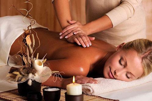 Ароматический массаж с маслом «Тайский шелк»