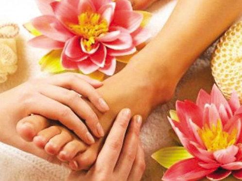 SPA ПРОГРАММА Sabai Arom Рефлексотерапия + SPA уход + массаж ног (спина, шея, ру