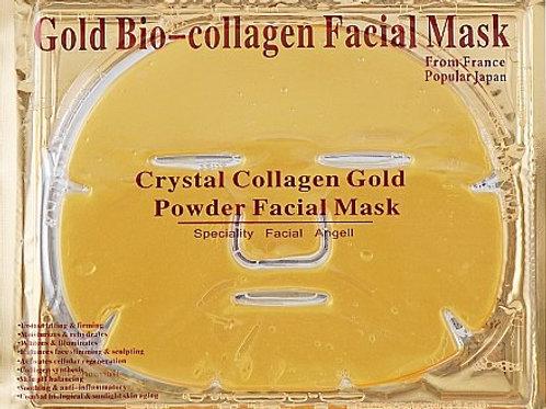 Коллагеновая маска для лица Collagen Crystal mask Bio Gold