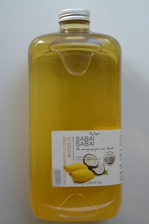 SABAI SABAI тайский десерт манго, рис и кокос