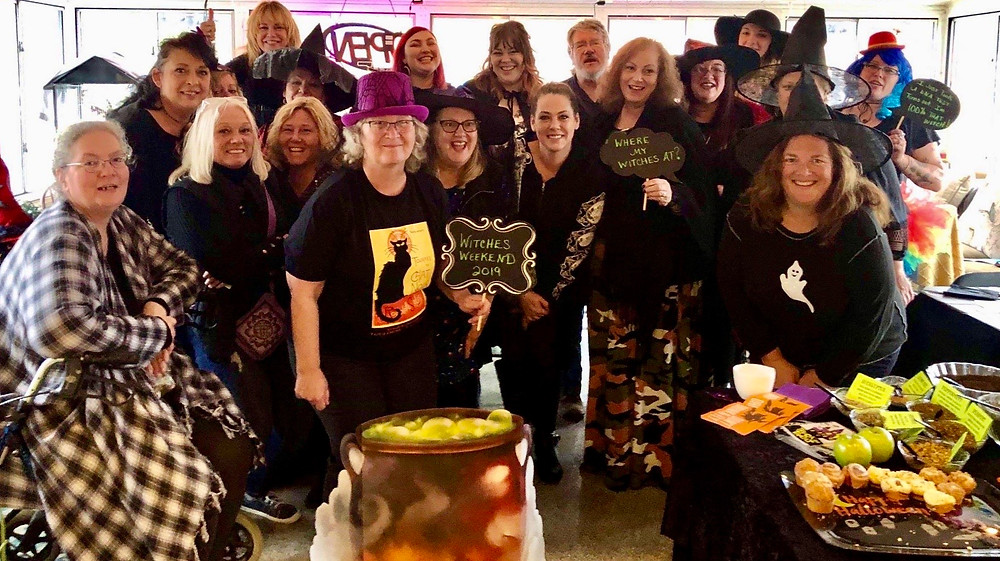 Witches Tea @ Witches Weekend! Houghton Lake, Michigan!