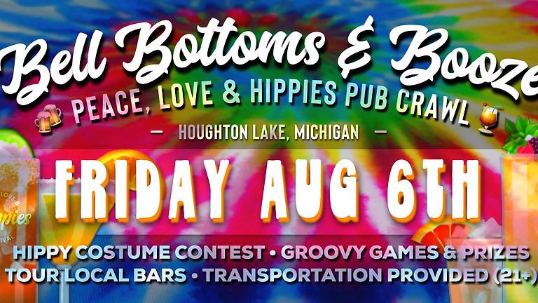 Bell Bottoms & Booze - Peace, Love & Hippies Pub Crawl