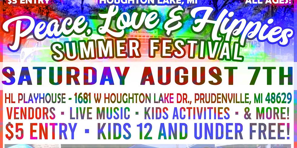 Peace, Love & Hippies Festival - Houghton Lake