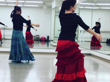 アウロラの2021年初踊り、初フラメンコ!!