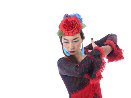 セビジャーナス(スペイン春祭りのダンス)を披露するときの裏技