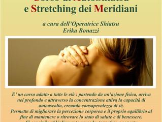 Corso di AutoShiatsu e Stretching dei Meridiani