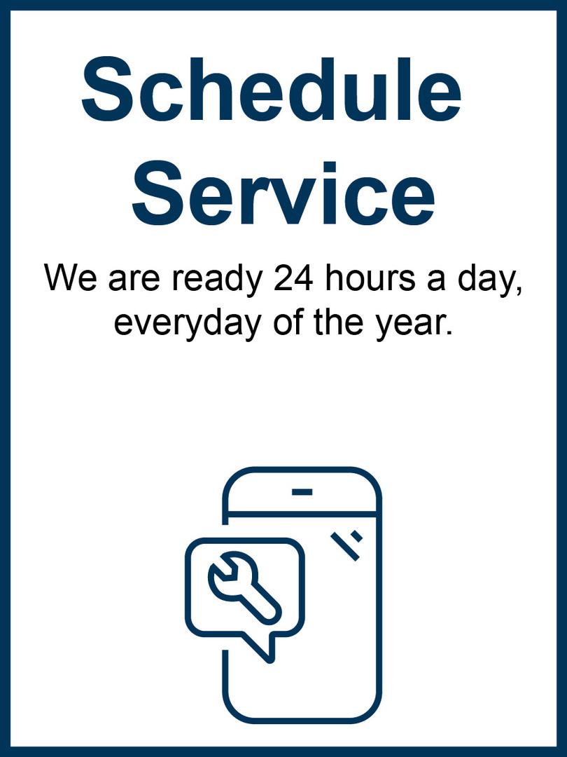 Schedule Service Nav Box