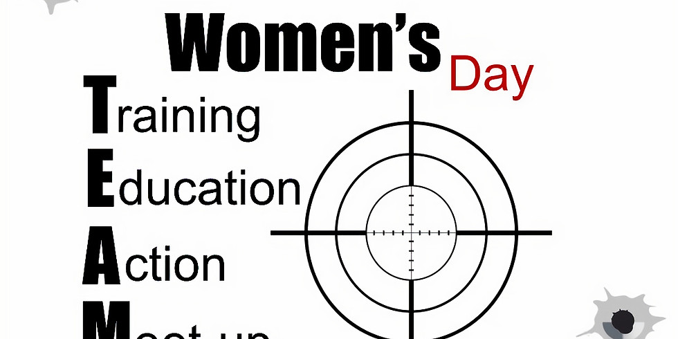 Women's Day! TEAM Meeting and Shoot