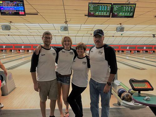 HNR Gunworks bowling team