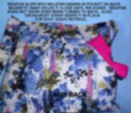Fabric Gun Purses